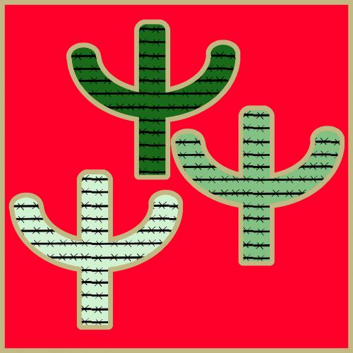 cactus western background western