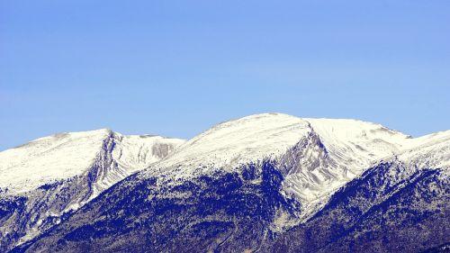 cadi snowy mountains snow