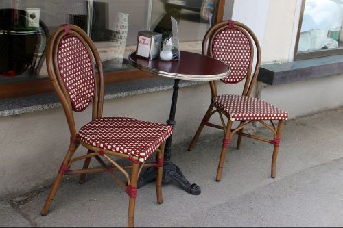 cafe bistro seat