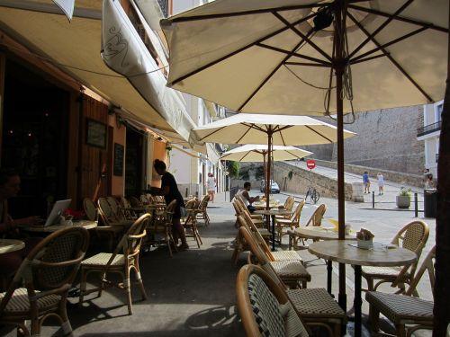 café pavement cafe al fresco