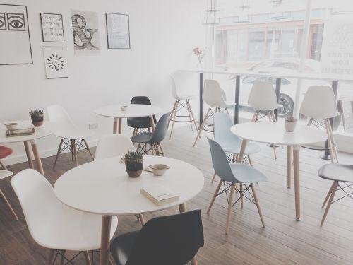 cafe restaurant tables
