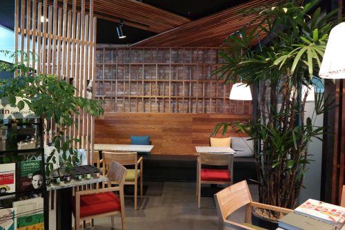 cafe cozy comfortable