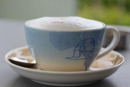 café au lait cup milchschaum