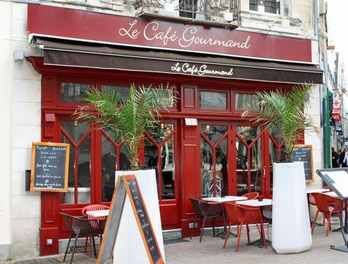 cafe gourmande french café