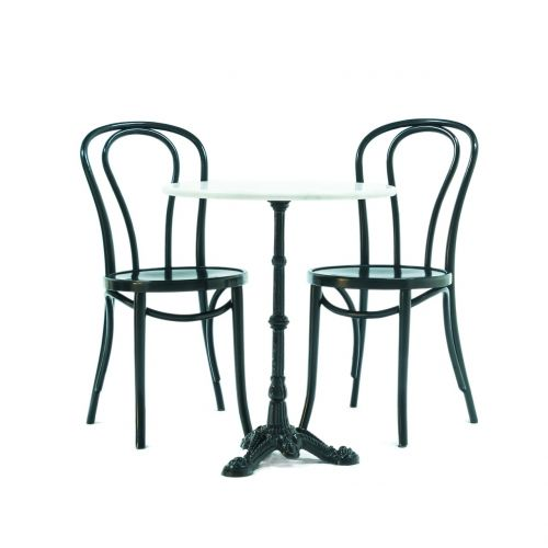 cafe house table table bentwood chair
