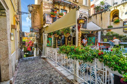 Cafe In Sicily