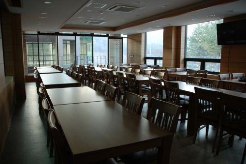 cafeteria refectory canteen