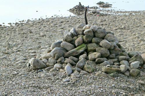 cairn stone sculpture stone