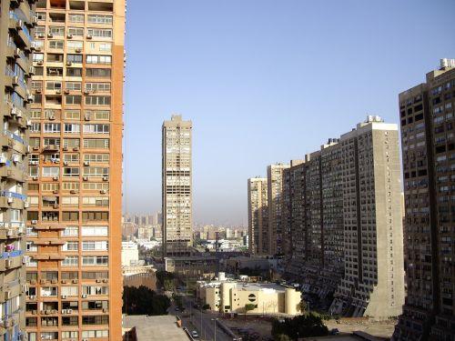cairo skyscraper view