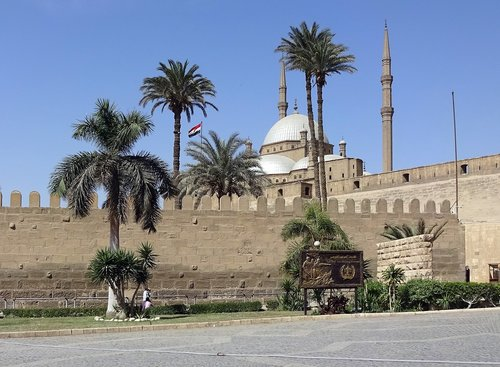 cairo  citadel  mosque