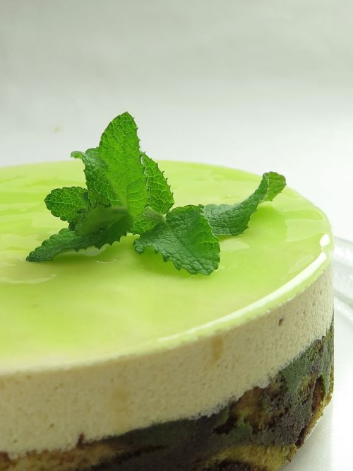 cake mint food