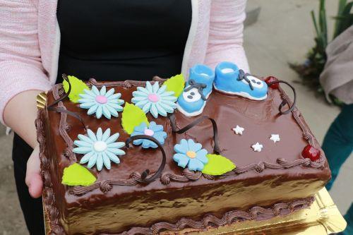 cake baptism sweet