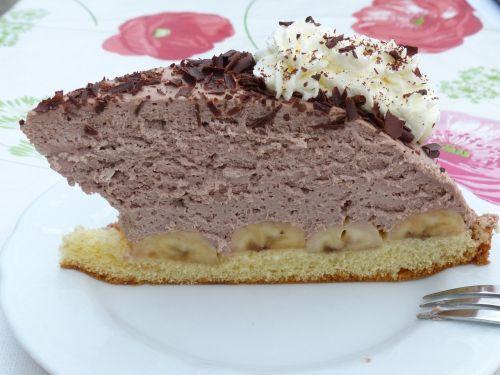 cake chocolate cake banana cake