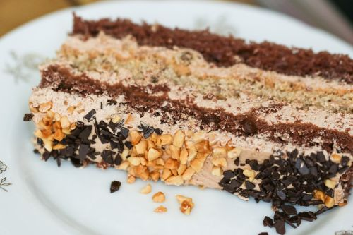 cake piece of cake serving of cake