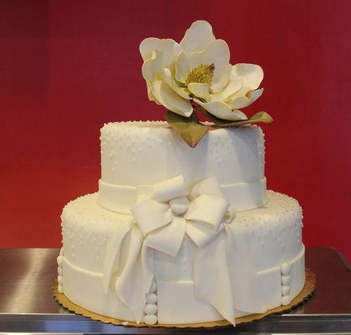cake wedding flower