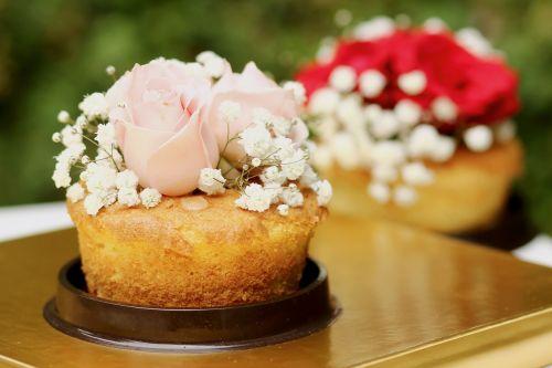 cake sweet flowers