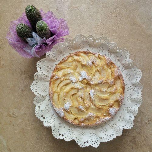 cake apples american-pie