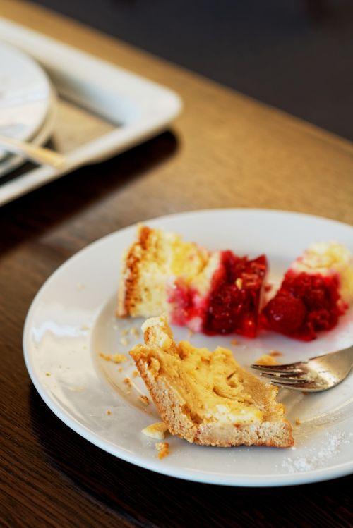 cake plate eat