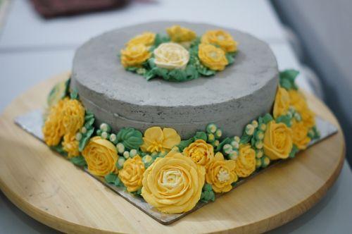 cake buttercream flower