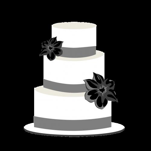 cake wedding tiers