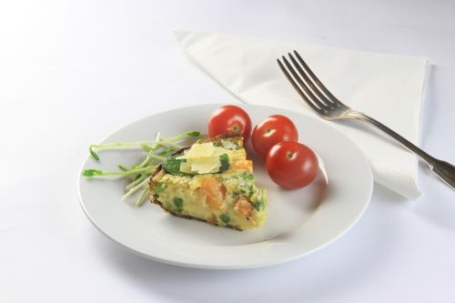 cake pastry tomatoes