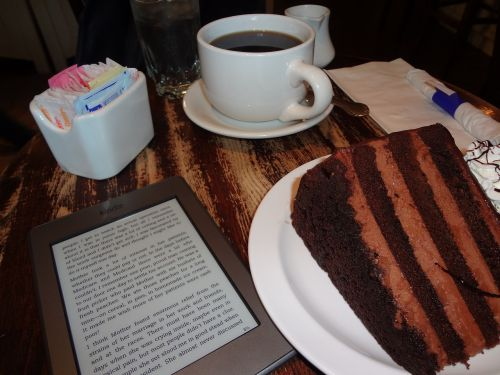 cake kindle coffee
