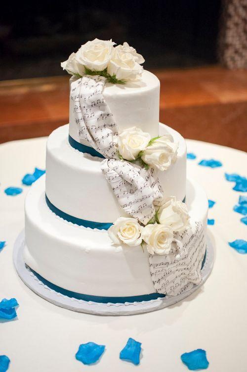 cake wedding food