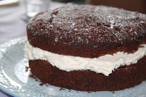 cake chocolate cream