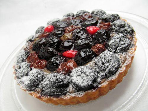 cake fruit cherry