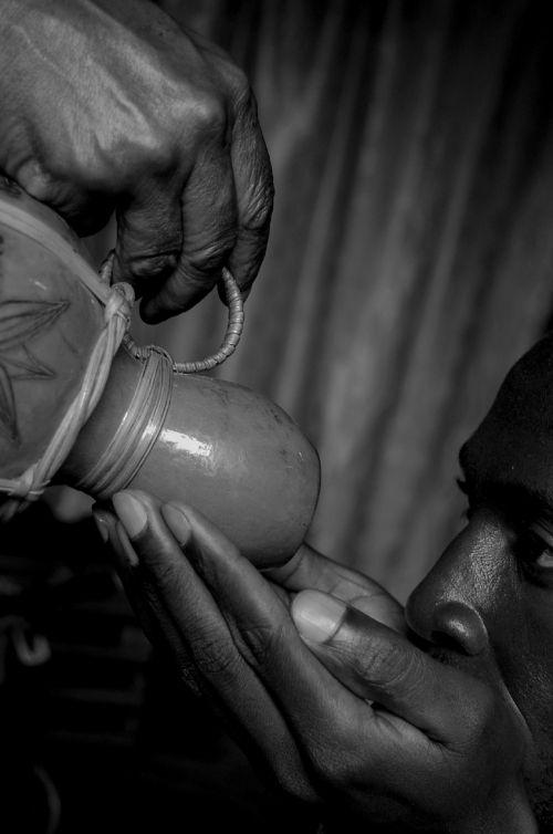 calabash ritual african