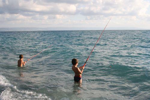 calabria sea fishing