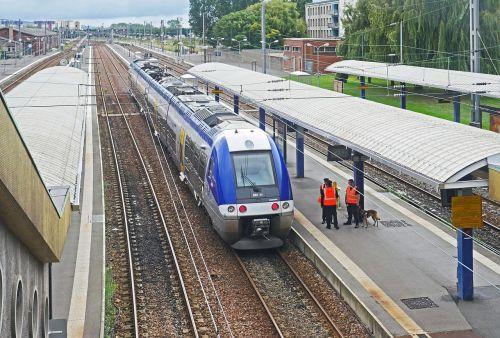 calais city station northern france
