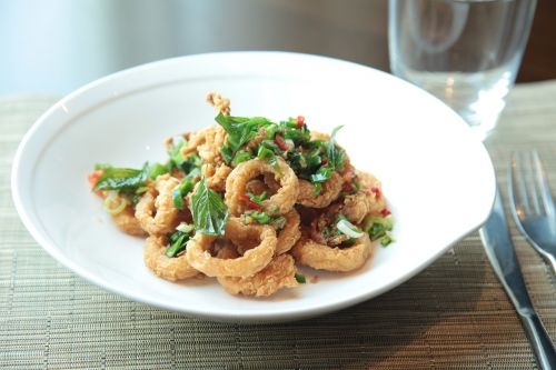 calamari crispy fried