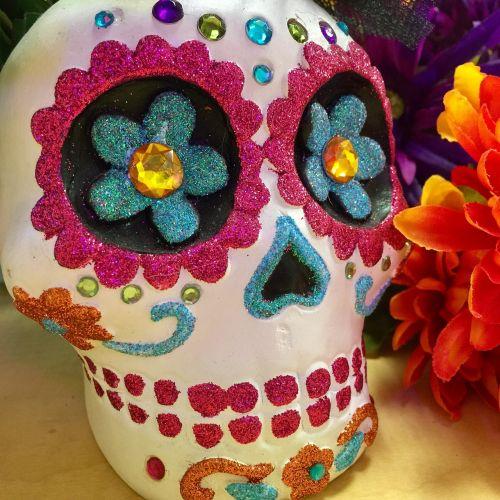 calavera skull day of the dead