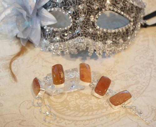 calcite orange brown