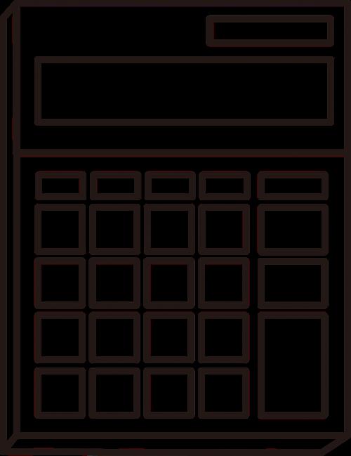 calculation calculator line
