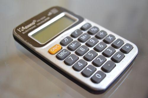calculator accounts mathematics