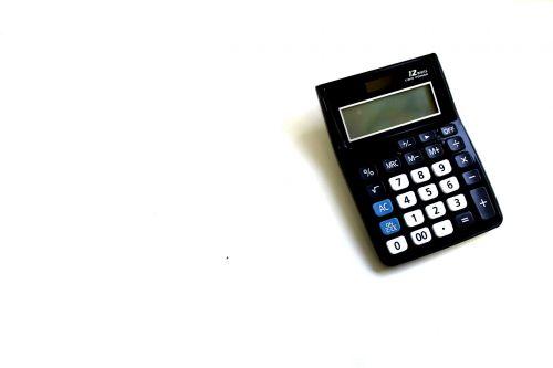 calculator white no backgrounds