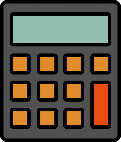 icon calculator math