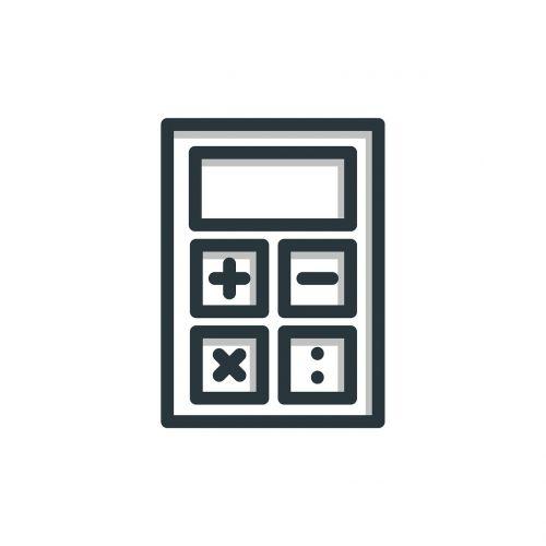 calculator icon business