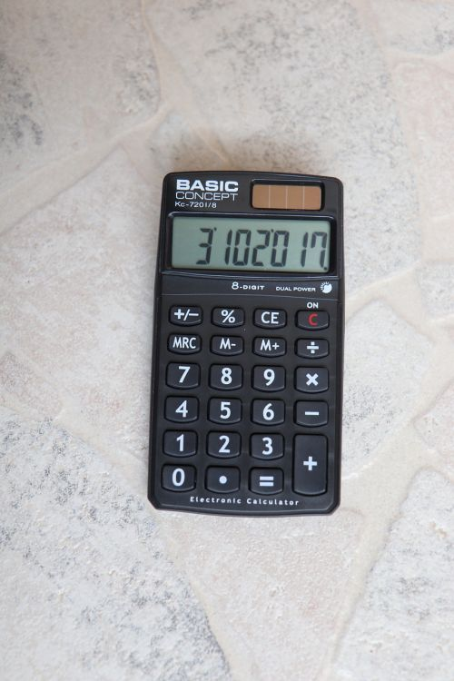 calculator how to calculate count