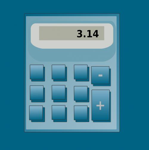 calculator pocket hand