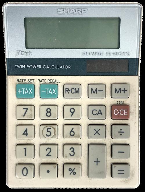 calculator dirty calculate