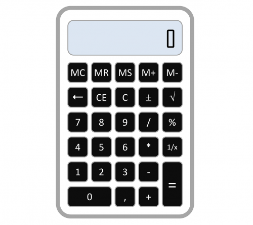 calculator accounting number