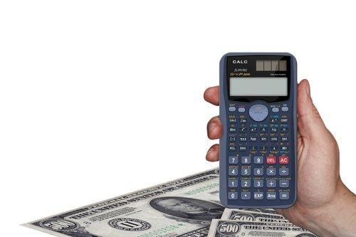 calculator  money  dollar