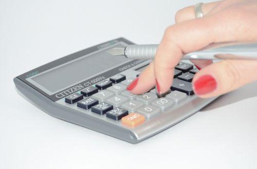 calculator the hand calculate