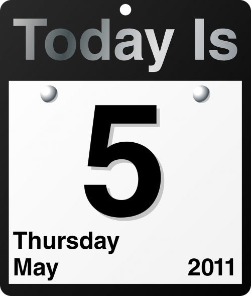 calendar today date
