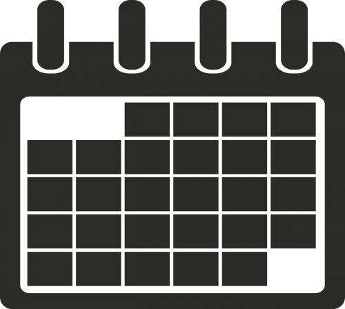 calendar icon minimalist