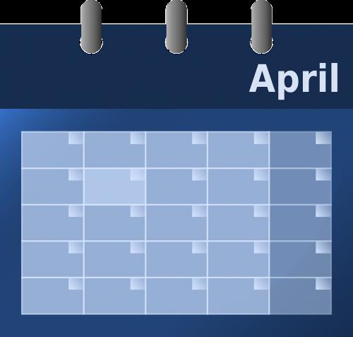 calendar date agenda