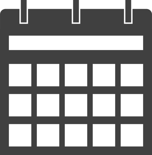 calendar dates schedule